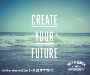Create Your Future- Bid and Research Development