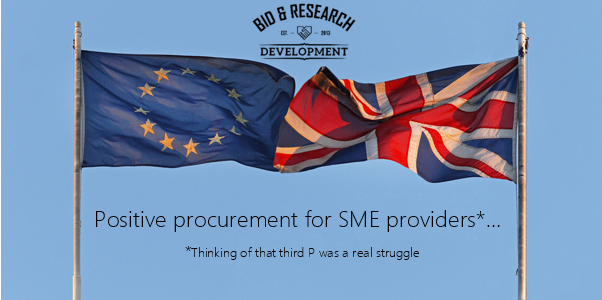 Procurement changing for the better…