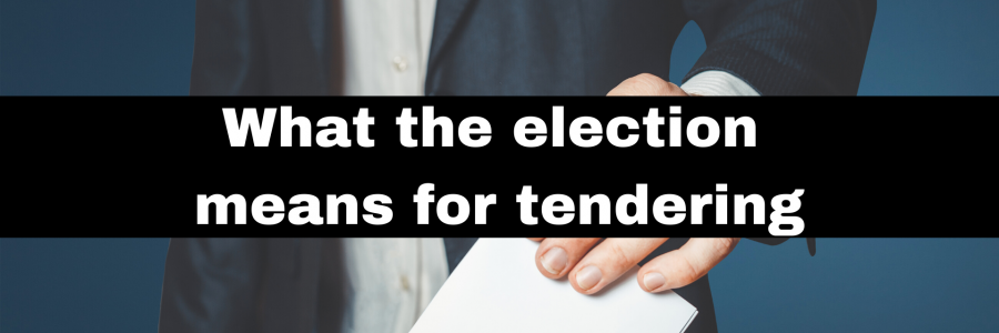 What the election means for tendering